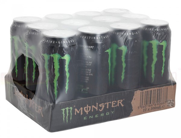Monster Energy Drink 500ml tray